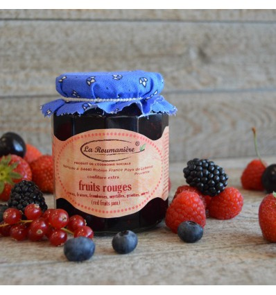"Confiture de fruits rouges ""La Roumanière"""